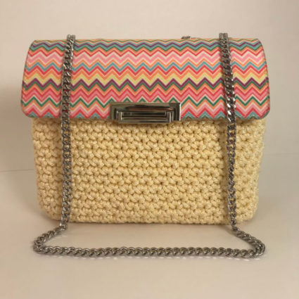 Handmade Bag, Chanel Executive, Multicolor Missoni Yellow