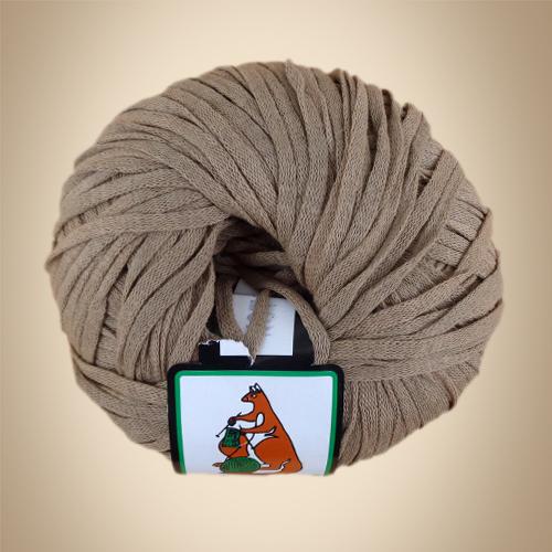 Κορδέλα Cotton, 100γρ, Βελονάκι No6-7, Μπέζ Πούρου
