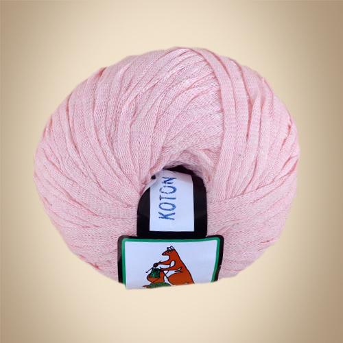 Κορδέλα Cotton, 100γρ, Βελονάκι No6-7, Ρόζ