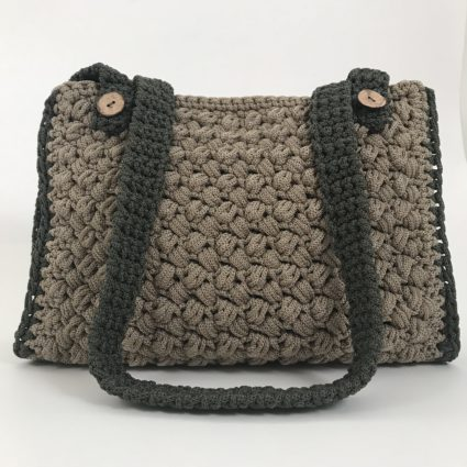 Handmade, All Day Bag, Penelope, Χακί - Μπέζ Πούρο